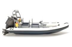 Bewegungsboot Stockbild