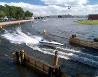 Bewegungsboot Wort-Meisterschaft Stockfotografie