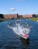 Bewegungsboot Wort-Meisterschaft Stockbilder