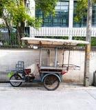 Bewegungsdreiräder für Straßennahrungsmittel Lizenzfreies Stockbild