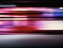 Bewegungshintergrund der U-Bahn stockbild