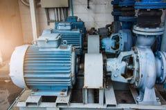 Bewegungsmaschine in der Fabrik Lizenzfreies Stockbild