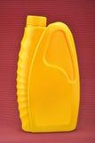 Bewegungsschmierölflasche stockbild