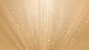 Bewegungsvideo von funkelnden Lichtern stock video