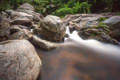Bewegungswasserfall Stockfoto