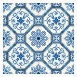 Bewerkt mozaïekpatroon Royalty-vrije Stock Fotografie