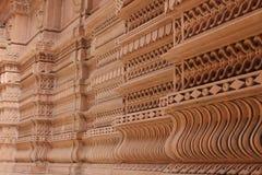 Bewerkte muren - India royalty-vrije stock afbeeldingen