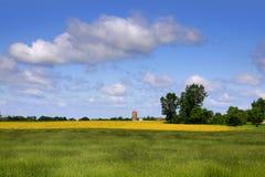 Bewirtschaften Sie Landschaft stockfoto