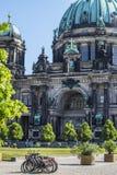Bewohner von Berlin dom stockbild