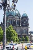 Bewohner von Berlin dom stockfoto