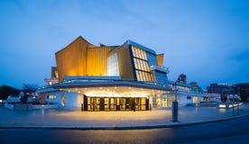 Bewohner von Berlin Philharmonie Stockfotos