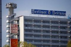 Bewohner von Berlin Verlag Lizenzfreie Stockbilder