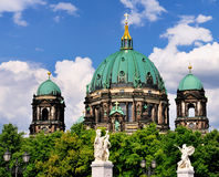 Bewohner von BerlinDom, Deutschland Lizenzfreies Stockbild