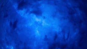 Bewolking. Achtergrond van wolken bij nacht. Tijdoverlapping stock footage