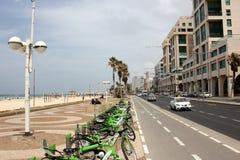 Bewolking in Tel Aviv Stock Foto