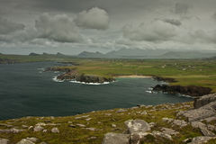 Bewolkt Ierland Stock Foto
