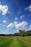 Bewolkt landschap Stock Foto