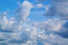 Bewolkt op hemel 0006 Stock Foto's