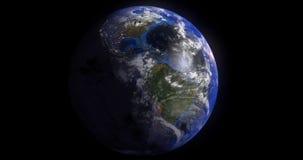 Bewolkte aarde Royalty-vrije Stock Foto