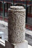 Bewolkte Dag bij de Zomerpaleis, Peking, China royalty-vrije stock foto