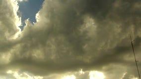 Bewolkte Dag Timelapse stock footage