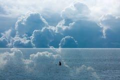 Bewolkte Eenzaamheid Stock Foto