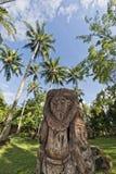 Bewolkte Hemel op turkooise tropische paradijsoverzees Royalty-vrije Stock Foto