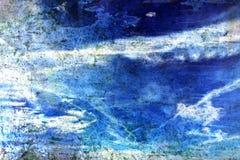 Bewolkte hemelachtergrond, samenvatting Stock Fotografie