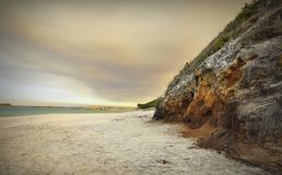 Bewolkte Sunsets van William Bay Royalty-vrije Stock Foto's