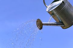 Bewässerungsdose Lizenzfreies Stockbild