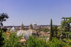 Bewundern von Rom stockfotos