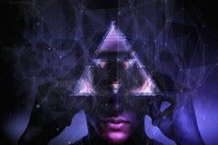 Bewusstseins- und Abstraktionskonzept vektor abbildung