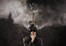 Bewusstseinskontrolle stockfotos