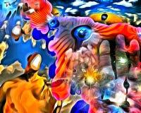 bewustzijn vector illustratie