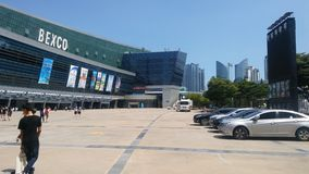 Bexco de Busan image stock