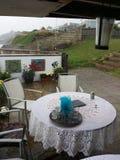 Bexhill nadbrzeże w lecie Zdjęcia Royalty Free