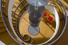 BEXHILL-ON-SEA,东部SUSSEX/UK - 1月11日:在D的楼梯 图库摄影