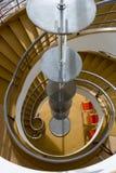 BEXHILL-ON-SEA,东部SUSSEX/UK - 1月11日:在D的楼梯 免版税库存图片