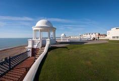 BEXHILL-ON-SEA,东部SUSSEX/UK - 10月17日:grou的柱廊 免版税库存图片