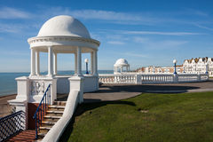 BEXHILL-ON-SEA, EAST SUSSEX/UK - OCTOBER 17 : Colonnades in grou Royalty Free Stock Images