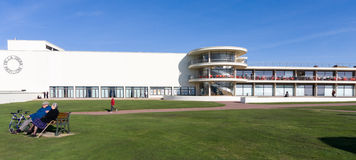 BEXHILL-ON-SEA, EAST SUSSEX/UK - OCTOBER 17 : De la Warr Pavilli Stock Photography
