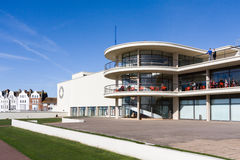 BEXHILL-ON-SEA, EAST SUSSEX/UK - OCTOBER 17 : De la Warr Pavilli Royalty Free Stock Image
