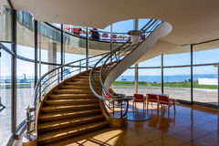 BEXHILL-ON-SEA, EAST SUSSEX/UK - OCTOBER 17 : Staircase in the D Stock Photography