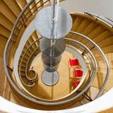 BEXHILL-ON-SEA, SUSSEX/UK EST - 11 JANVIER : Escalier dans le D Images libres de droits