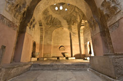 Bey hamam bath historic building at Greece Stock Photo