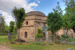 Bey Hamam, bathhouse do otomano situado ao longo da rua de Egnatia em Tessalónica, Macedônia, Grécia foto de stock
