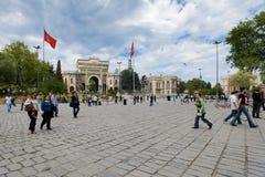 beyazit Κωνσταντινούπολη τετρ&alph Στοκ Εικόνες