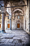 Beyazit Camii mosque courtyard Royalty Free Stock Images