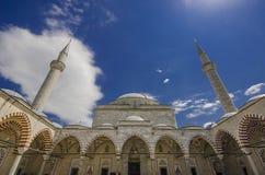 2 Beyazit Mosque i Edirne royaltyfria bilder