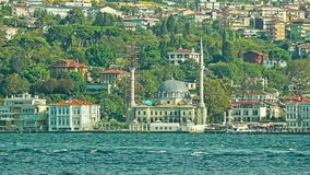 Beykoz mosque stock video footage